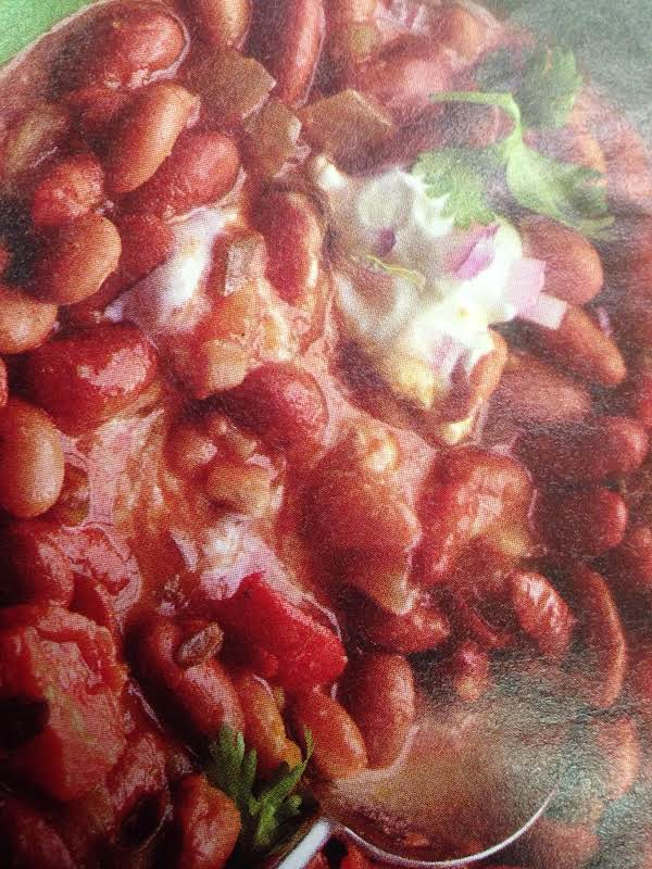 Sam's Vegetarian Bean Chili Recipe