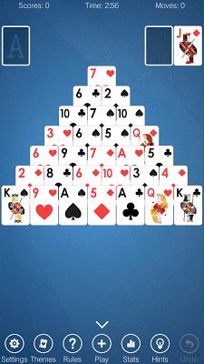 Pyramid Solitaire - screenshot