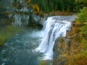 Photo: Mesa Falls on the Henry's Fork of the Snake River