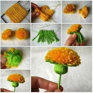 DIY Papper New Flower - náhled