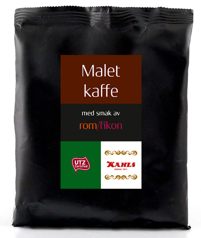Malet kaffe smaksatt med rom & fikon – Kahls