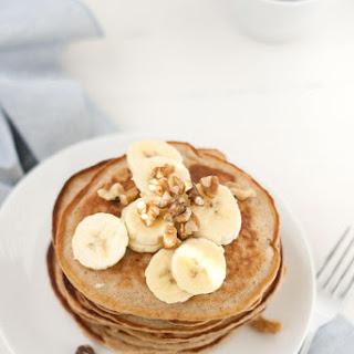 Oat and Almond Flour Pancakes (GF + Vegan Options)