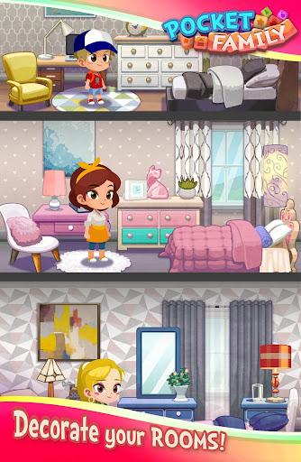Pocket Family Dreams: Build My Virtual Home modavailable screenshots 10