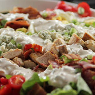 Cobb Salad with Blue Cheese Dressing.