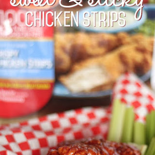 Sweet & Sticky Tyson® Crispy Chicken Strips