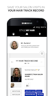 Style My Hair: hair styles and hair colors try on– miniatyr av skärmdump
