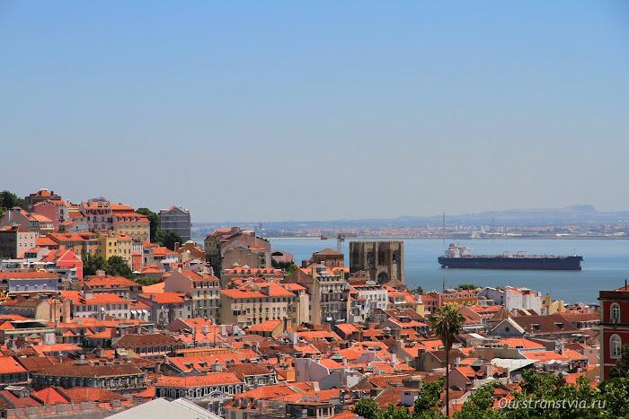 Смотровые площадки Лиссабона - Miradouro de São Pedro de Alcântara