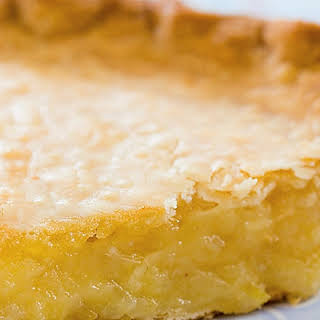 Lemon Sponge Pie.