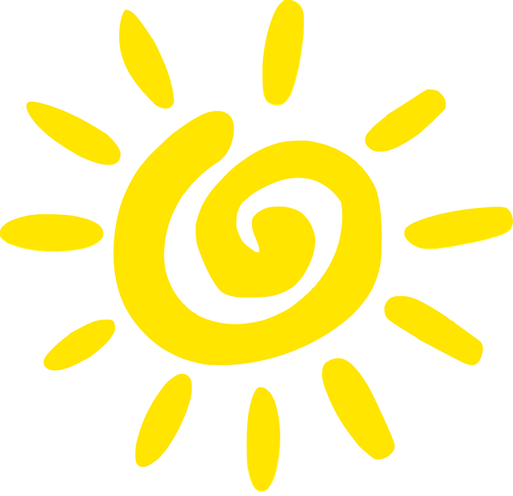 Free vector graphic: Sun, Yellow, Spiral, Summer, Design - Free ...