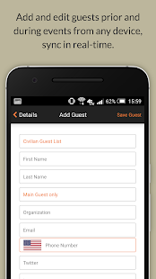 Event Check-In App l zkipster- screenshot thumbnail