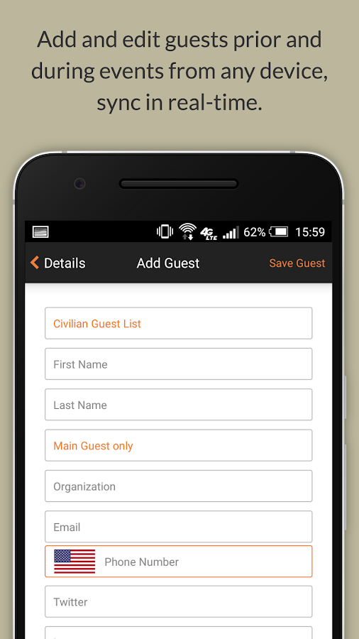 Event Check-In App l zkipster- screenshot