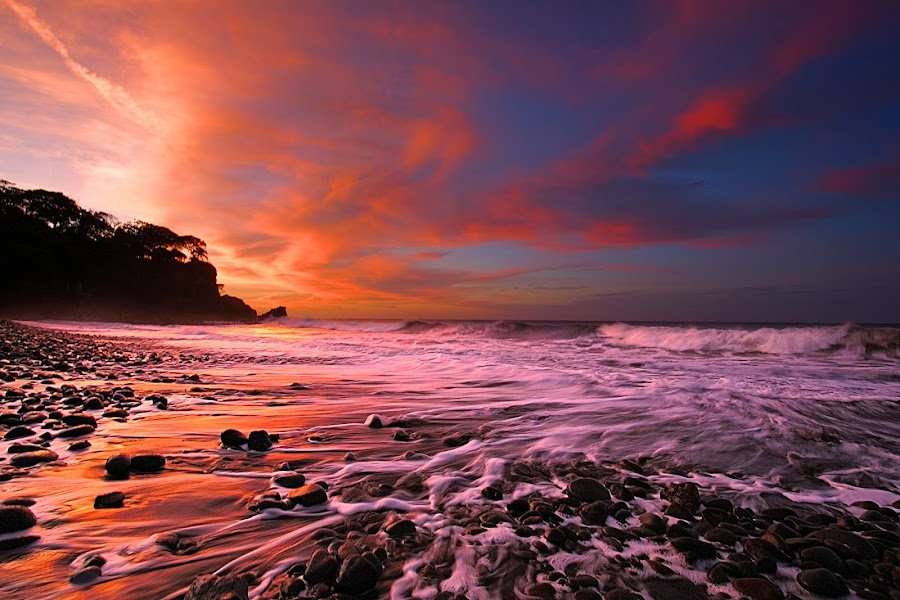 Playa Palmarcito by Tom  Ewell - Landscapes Waterscapes ( playa palmarcito )
