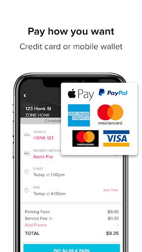 HonkMobile: Find & Pay for Parking screenshots 3