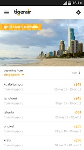 tigerair- screenshot thumbnail
