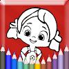 Färbung Spiele für Kinder