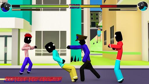Stickman Street Fighting City Blocky Gangster hack tool
