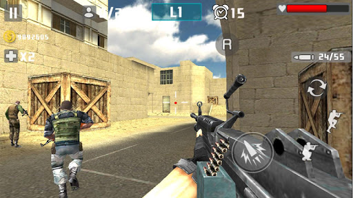 Gun Shot Fire War 1.2.4 screenshots 1