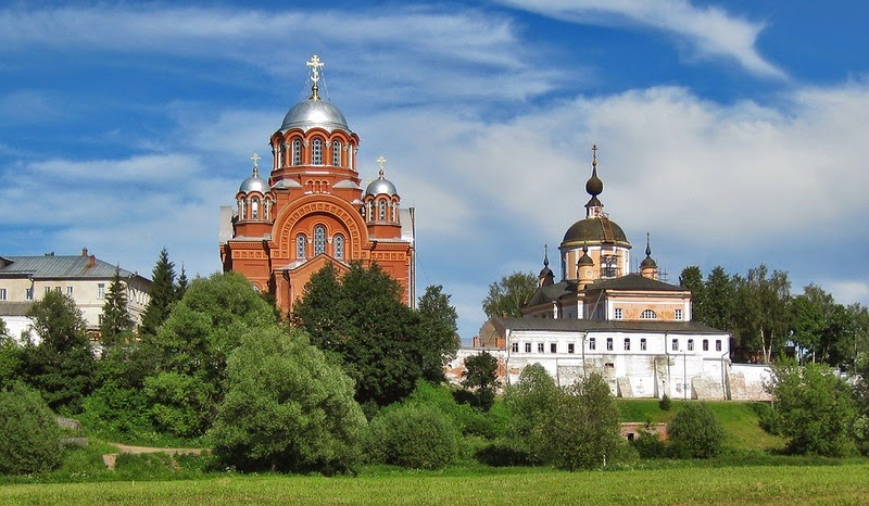 Покровский девичий монастырь в Хотьково