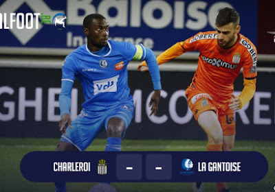 Charleroi-La Gantoise: le top 6 dans le viseur