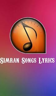 Lyrics of Simran - náhled