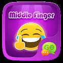 FREE - GO SMS FINGER STICKER icon