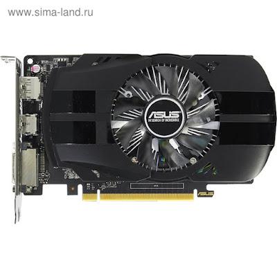 Видеокарта Asus nVidia GeForce GTX 1050TI, 4Гб, 128bit, GDDR5, HDMI, HDCP