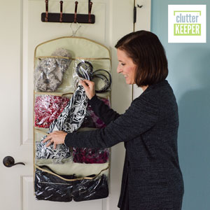 Clutter Keeper Deluxe 15-Pocket Hanging Organizer