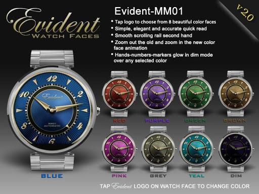 Evident-MM01 Watch Face