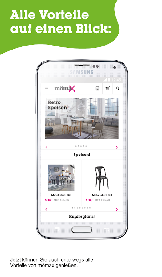m max deutschland android apps on google play. Black Bedroom Furniture Sets. Home Design Ideas