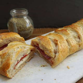 Easy Italian Stromboli.