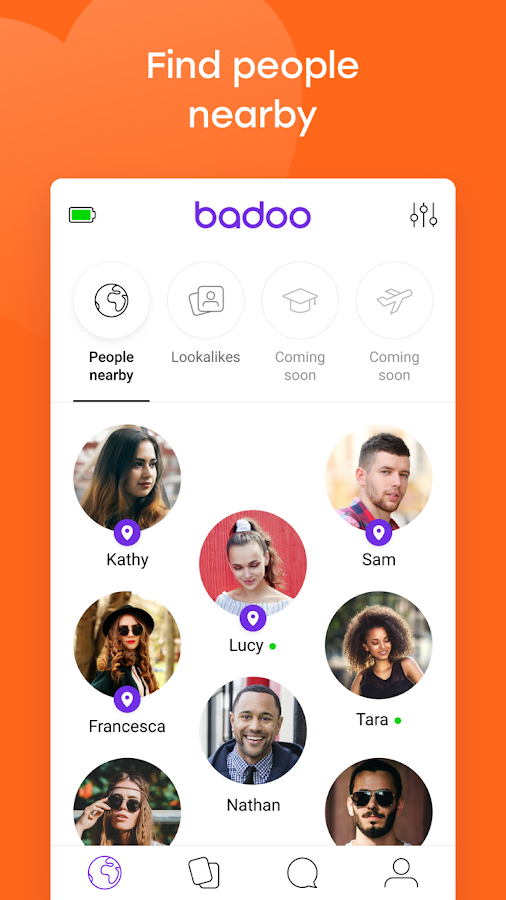 dating app badoo chat