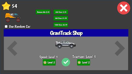 GraviTrack - náhled
