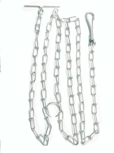 accesorio para mascotas resun cadena anudada 180 cm teo708000