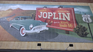 Photo: August 7-The city has a number of murals.