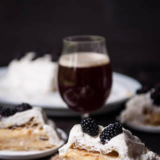 Puff Pastry Cake with Maple Ale Pastry Cream.