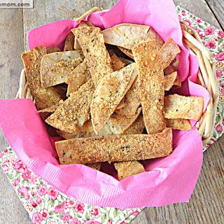 Parmesan Corn Tortilla Crisps