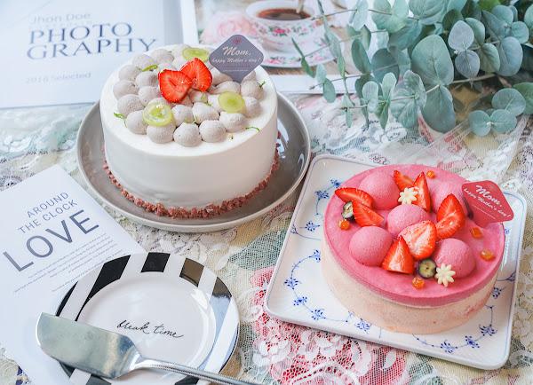 2020高雄母親節蛋糕推薦~花瓣芋泥布丁蛋糕x夢幻莓果慕斯蛋糕-晴晨Morning Sun Dessert