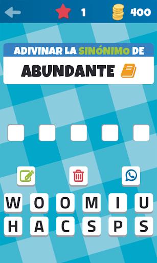 Sinónimos y Antónimos El Juego screenshot