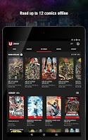 Screenshot of Marvel Unlimited