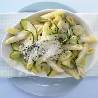 Creamy Zucchini Penne.