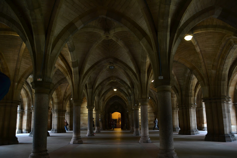 Glasgow University Cloisters di Nony1975