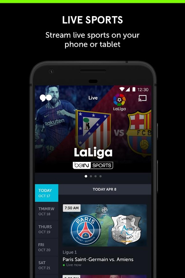 go90 - Stream TV & Live Sports- screenshot
