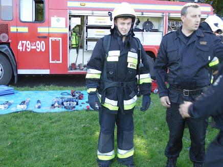 zajęcia strażackie