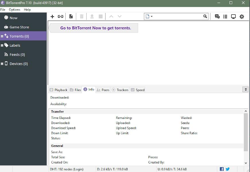 Phần mềm BitTorrentPro