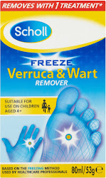 Scholl Freeze Verruca and Wart Remover - 80ml
