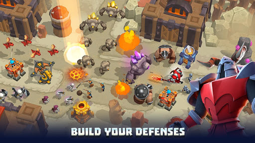 Wild Sky Tower Defense: Epic TD Legends in Kingdom apkmr screenshots 20