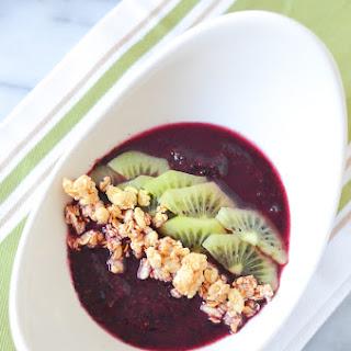 Blueberry Acai Mini Smoothie Bowl for One