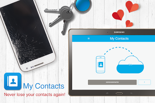 My Contacts - Phonebook Backup and Transfer App