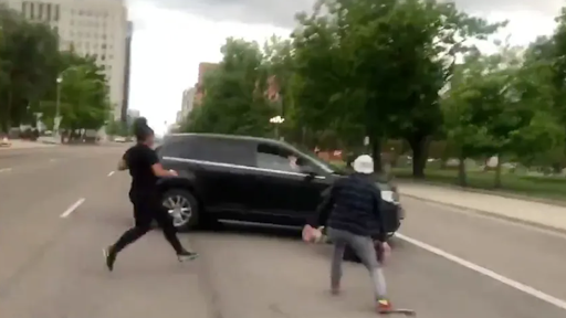 Justice! Woman Accused of Hitting George Floyd Rioter with Her Car Found Not Guilty