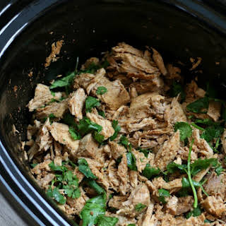 Slow Cooker Cilantro Lime Shredded Pork.